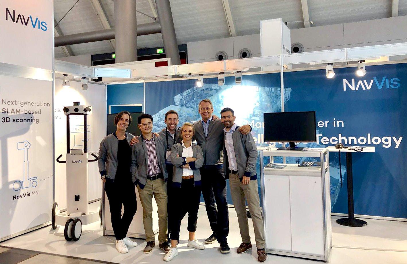 NavVis team at INTERGEO 2019