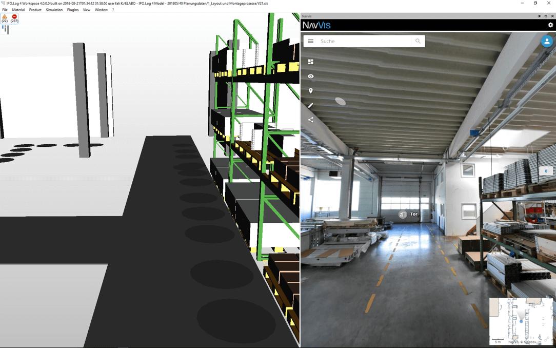 NavVis IndoorViewer IPO.Log Integration