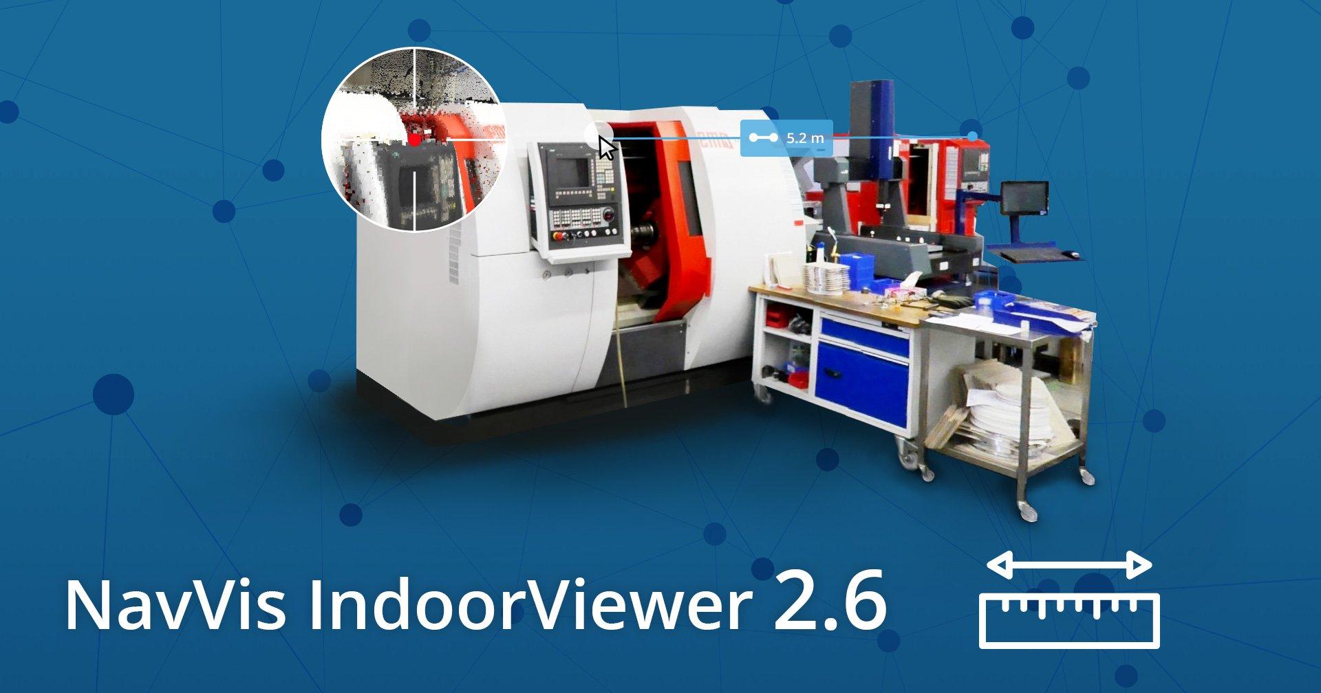NavVis IndoorViewer 2.6 Banner