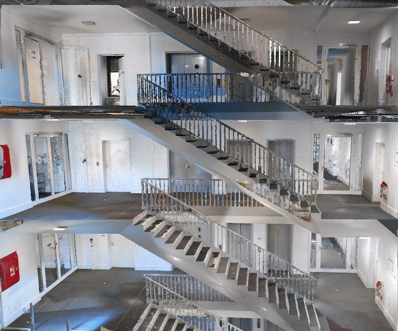 NavVisVLX-Point-Cloud-Stairs-1