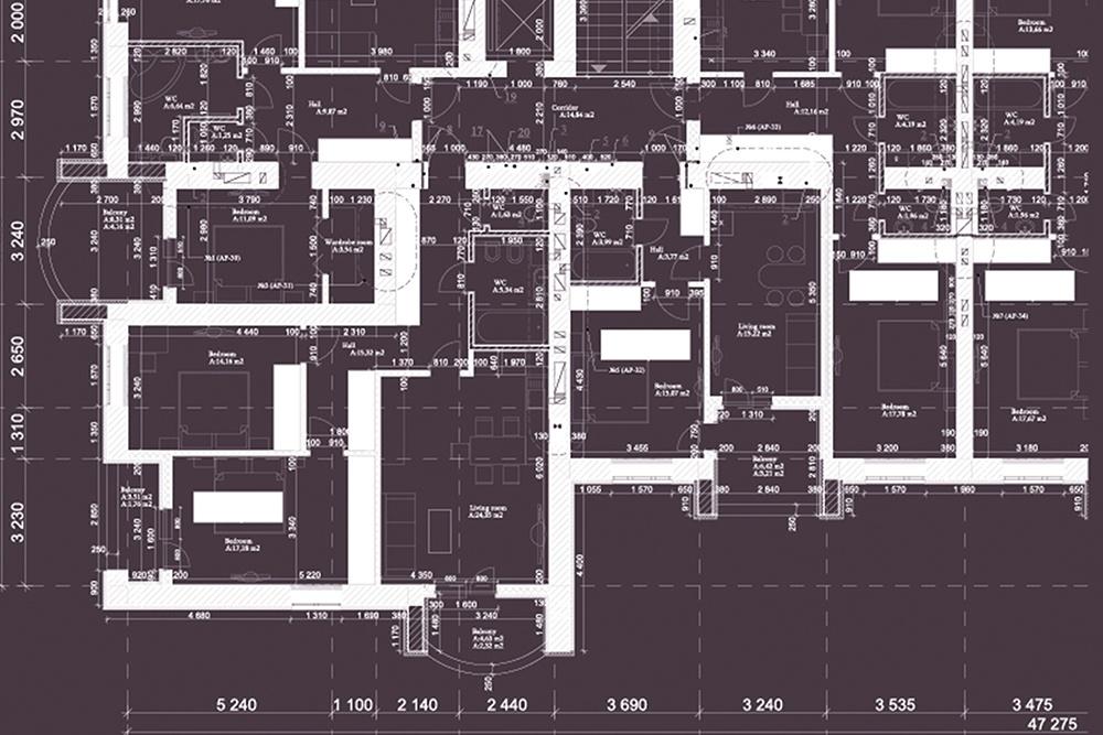 楼层平面图和图纸