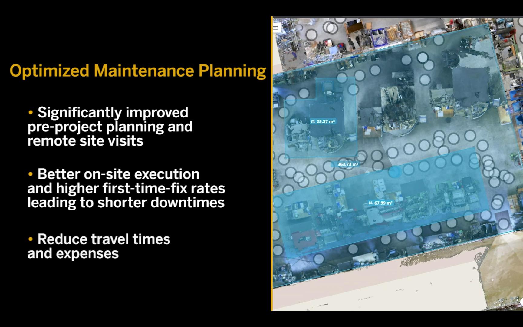 Optimized maintenance planning