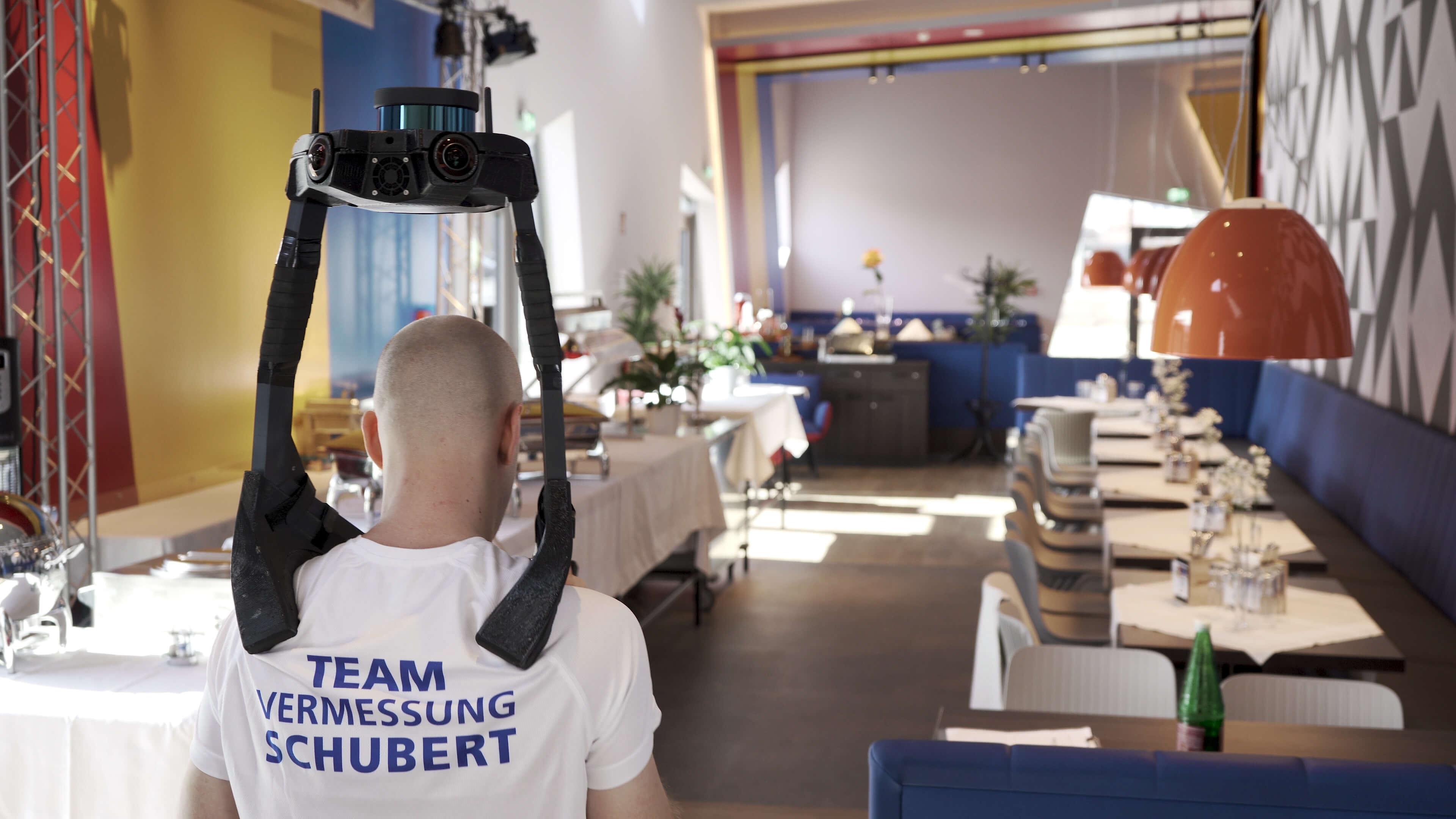 Team Vermessung Schubert NavVis VLX