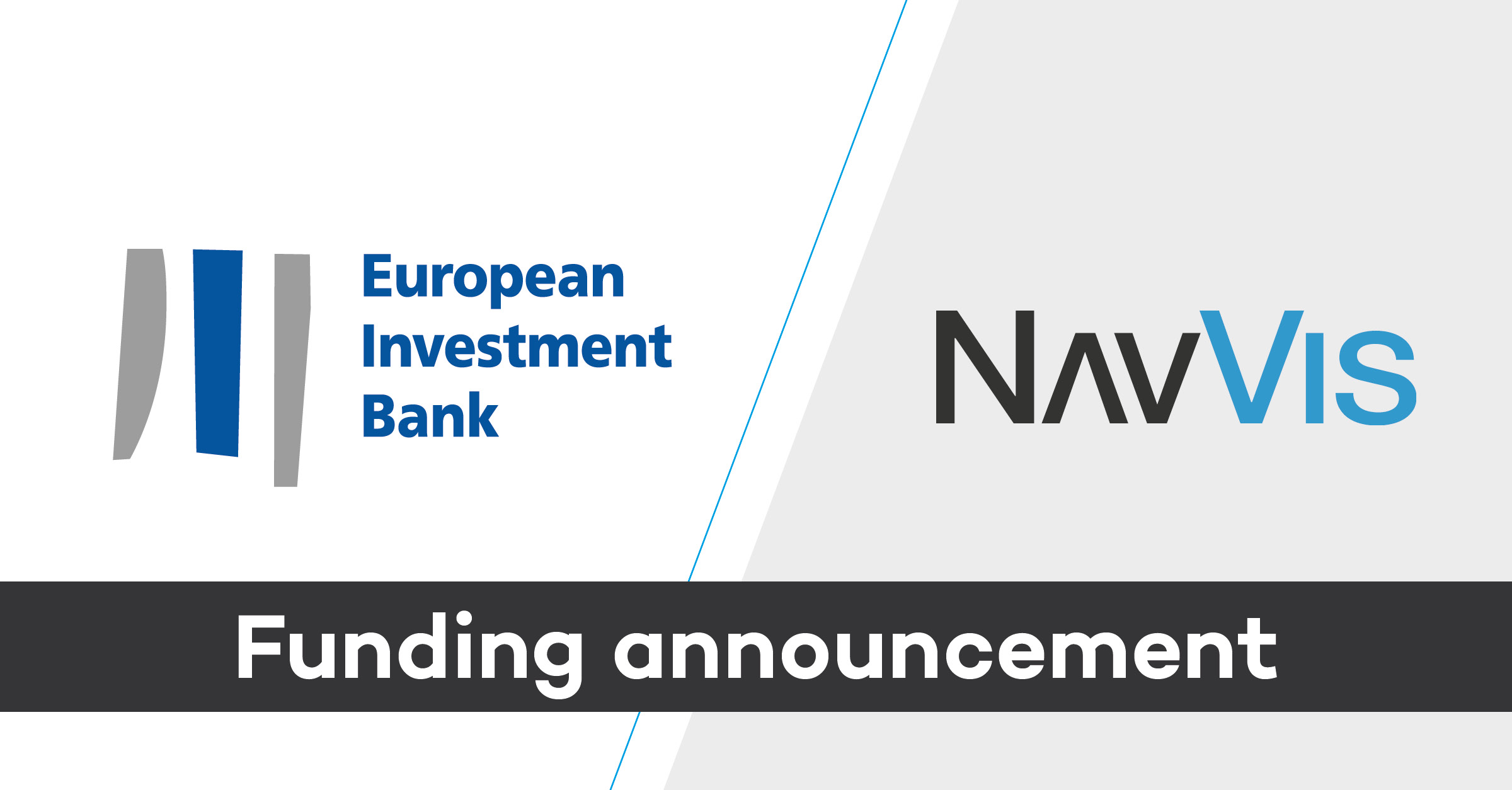 Funding announcement EIB and NavVis