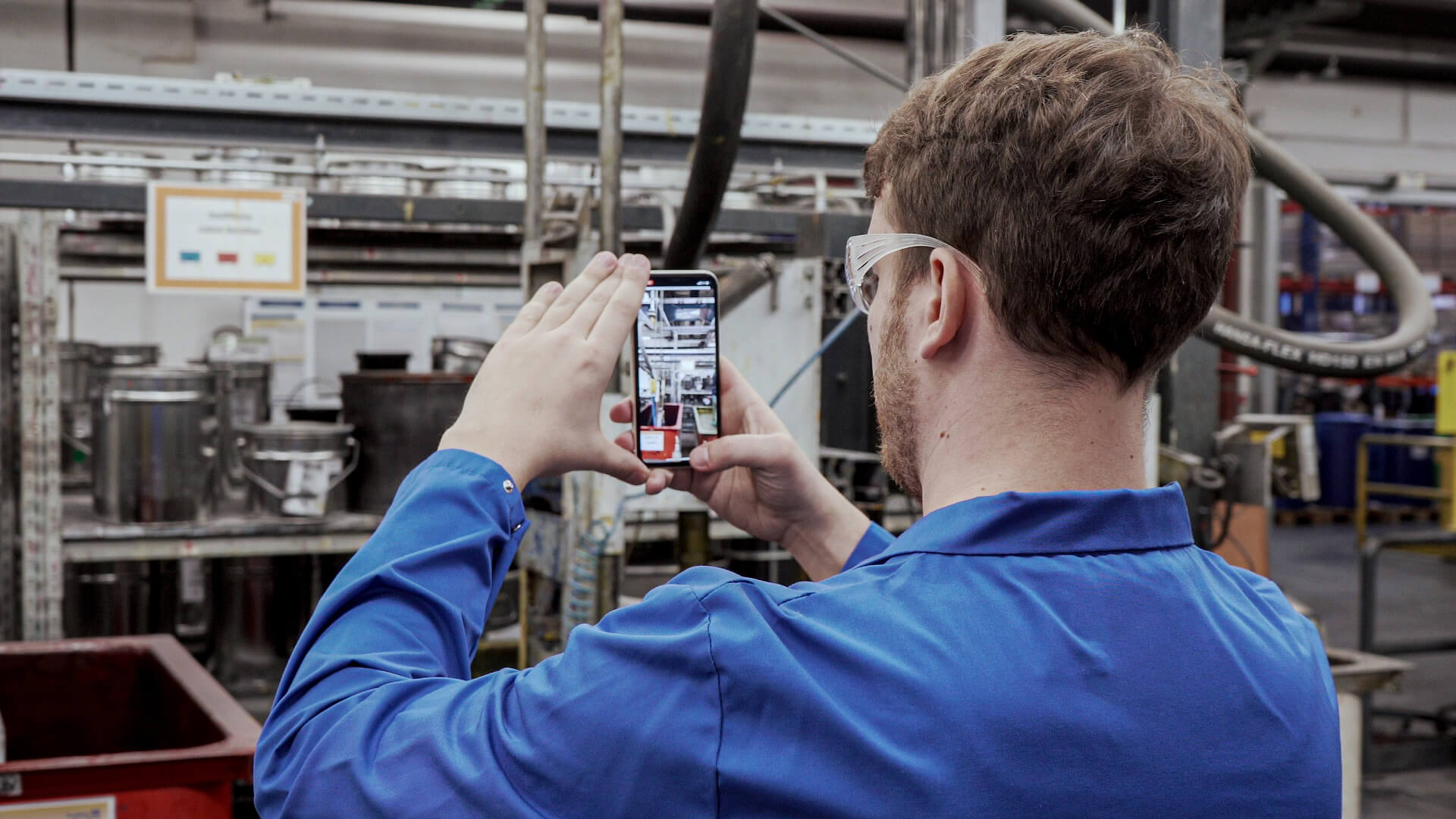 Digital Factory Solution: 5S und Gemba Walks mit NavVis IVION Go