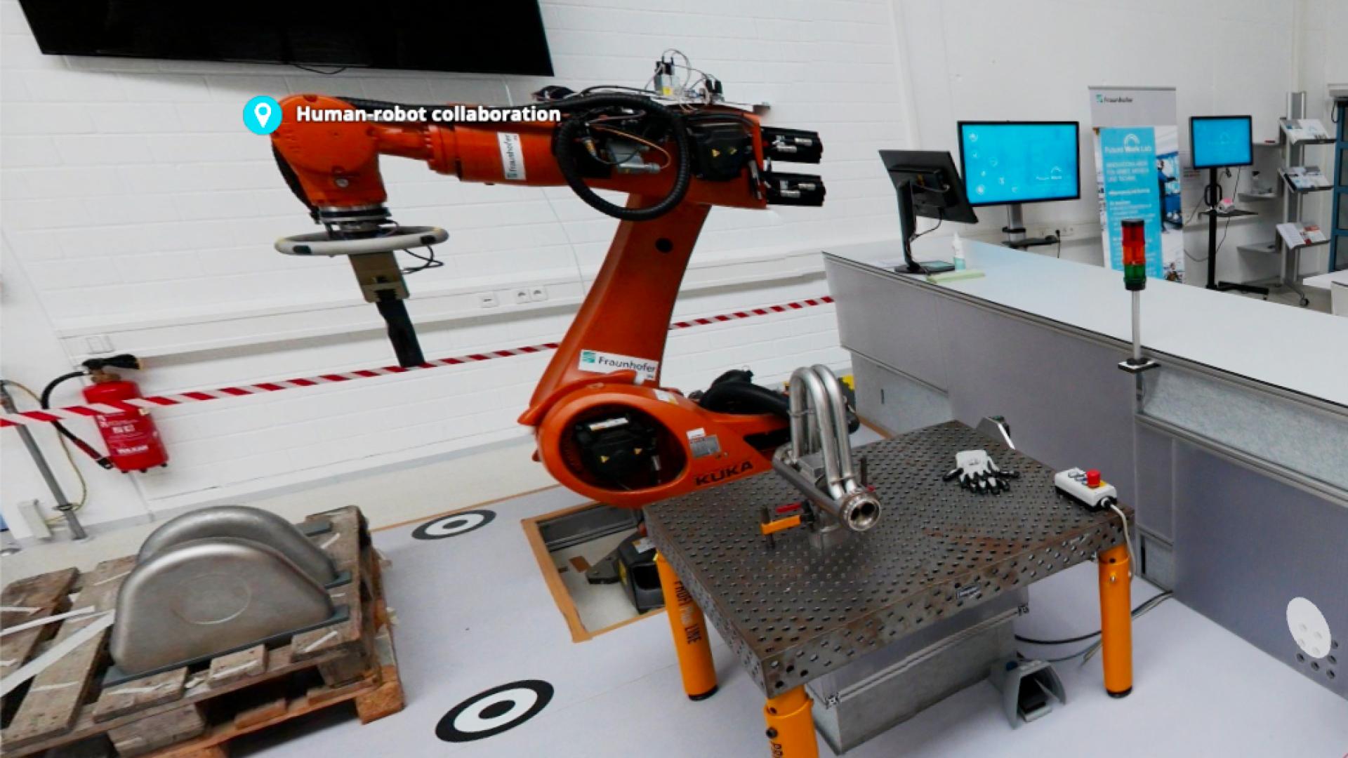 Hemminger 工程公司以及弗劳恩霍夫研究所关于未来工作的探讨