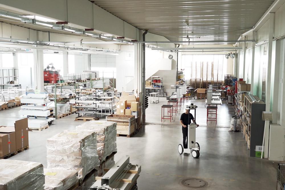 NavVis M6 warehouse
