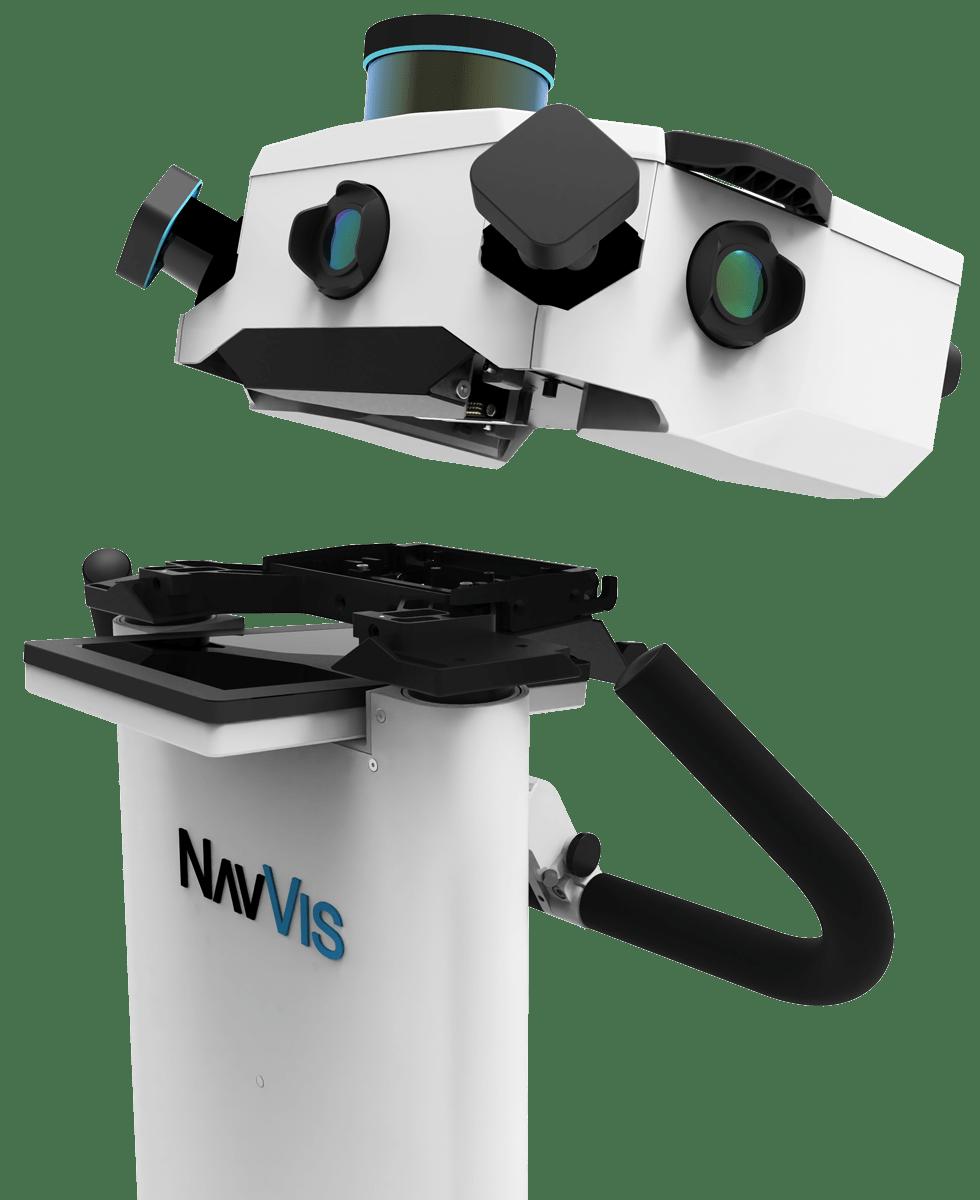 NavVis-M6-dismantling