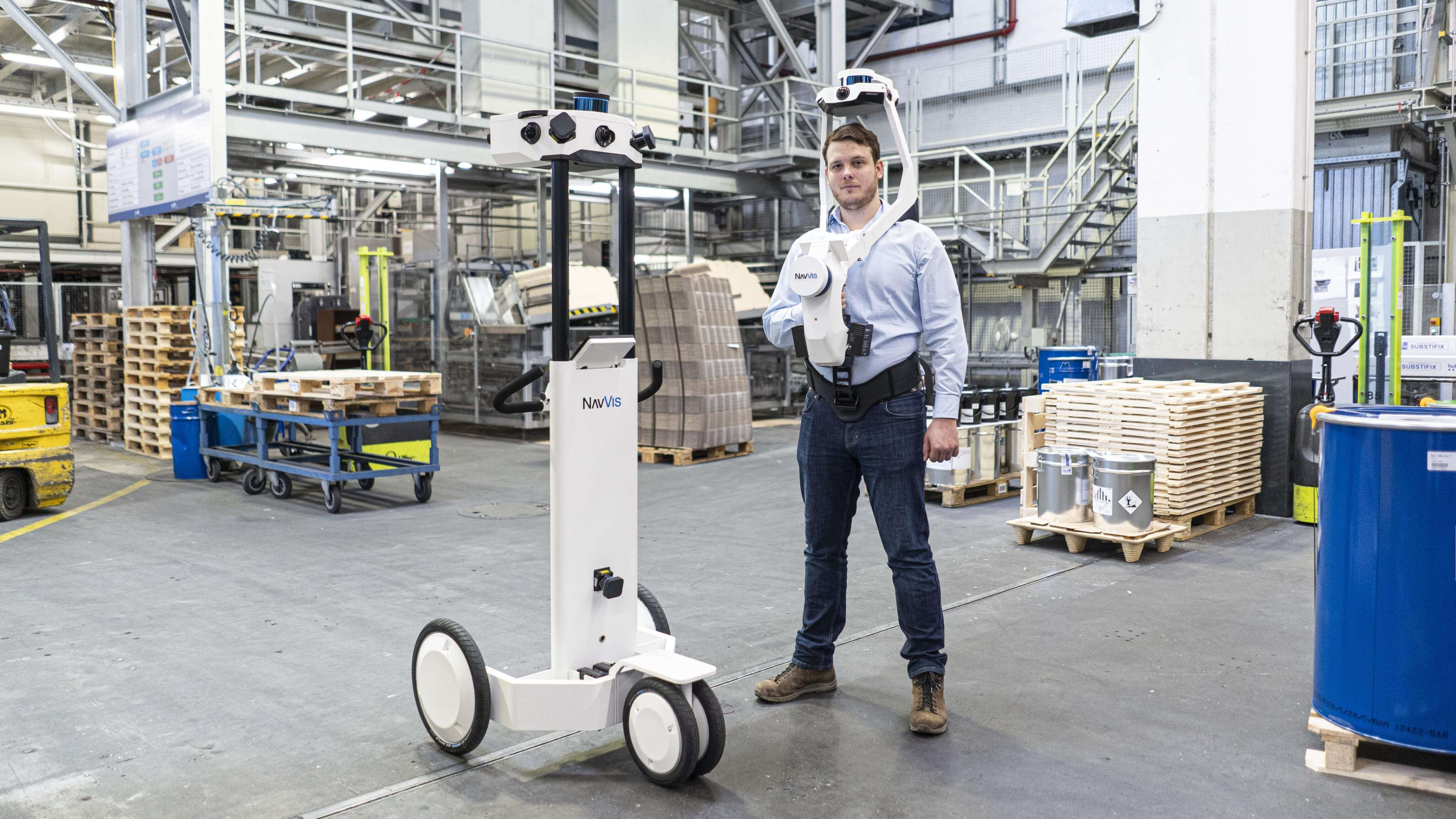 How NavVis VLX can complement NavVis M6 in laser scanning projects