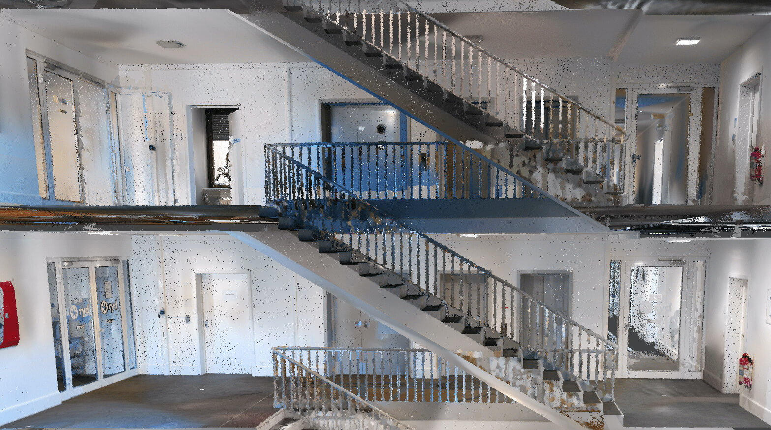NavVisVLX-Point-Cloud-Stairs