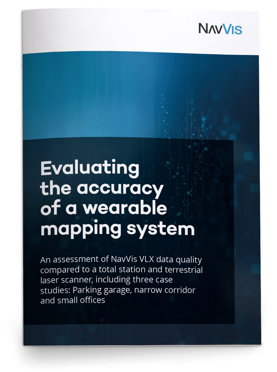 NavVis VLX accuracy white paper cover