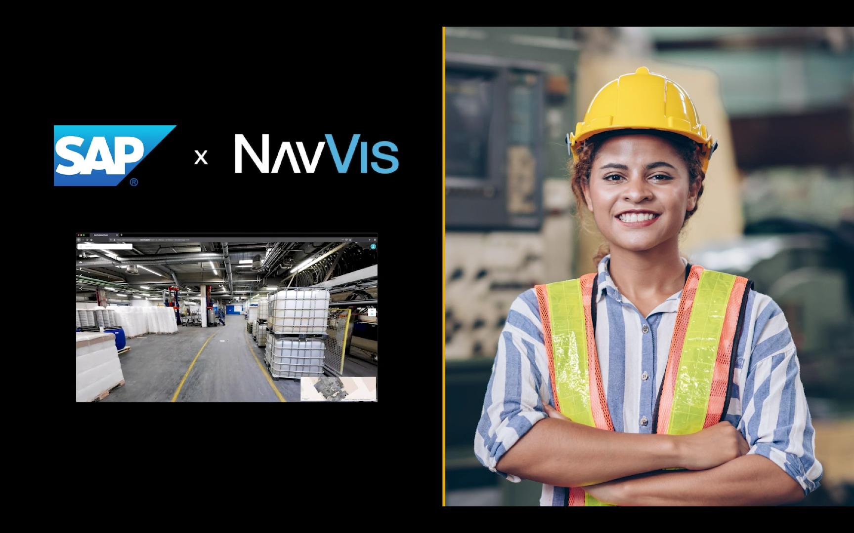 SAP x NavVis Mission Unstoppable