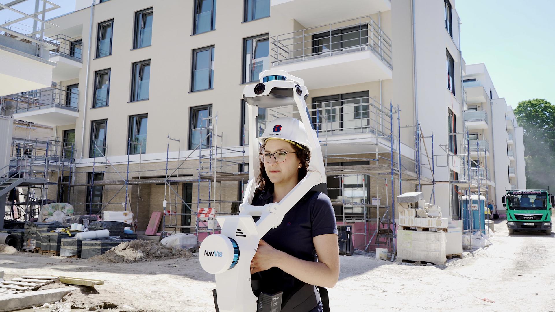 Reality Capture Solution: Entwurfs- und Baustandskontrolle