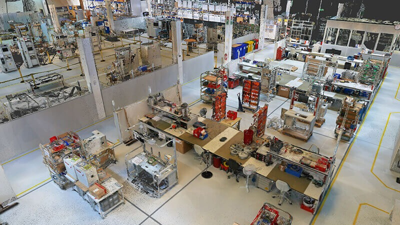 How digital twins in manufacturing improve factory planning