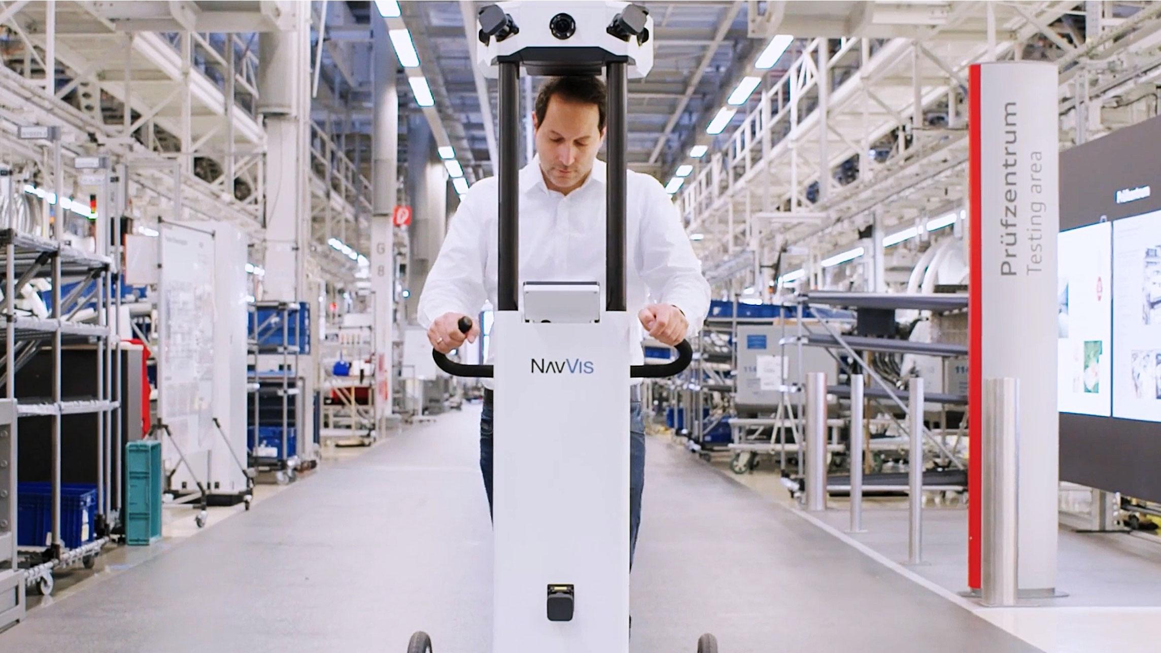 Reality Capture hilft bei der Fabrikplanung in der Autoindustrie