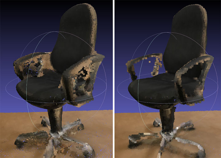 chair-point-cloud
