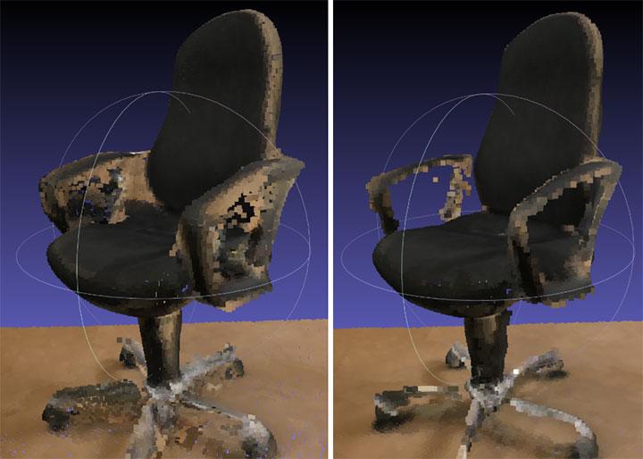 chair-point-cloud
