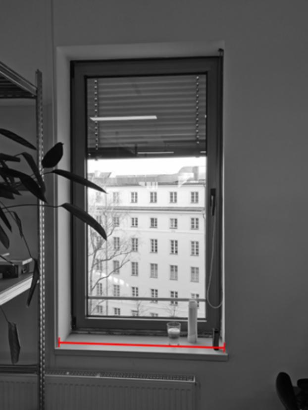 window width